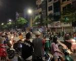 Công an vây bắt người bố đánh con gái gãy tay ở Bắc Ninh trên phố Hà Nội