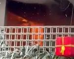 Quán ăn cháy dữ dội ngay ngày đầu năm, thiêu rụi nhiều tài sản
