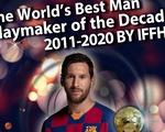 """Messi là """"vua kiến tạo của thập kỷ"""", Ronaldo chỉ xếp thứ 12"""