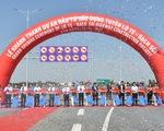 Khánh thành tuyến Lộ Tẻ - Rạch Sỏi, từ Kiên Giang đi Đồng Tháp chỉ còn 60 phút