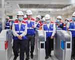 Giao mặt bằng metro Bến Thành - Tham Lương sớm, dân được mời thăm ga Nhà hát thành phố