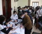 Xét nghiệm COVID-19 cho gần 500 phóng viên tác nghiệp tại Đại hội Đảng