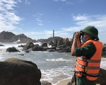 2 du khách bị sóng cuốn mất tích ở biển Kê Gà