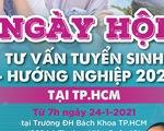 Gần 100 trường ĐH, CĐ tham dự ngày hội tư vấn tuyển sinh tại TP.HCM