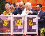Đại hội Đảng XIII đã bỏ phiếu bầu Ban chấp hành Trung ương khóa XIII