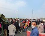 Cho phép 5 xe đưa người Quảng Ninh từ cầu Bạch Đằng về Hạ Long