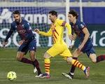 La Liga: Messi trở lại giúp Barca thắng tối thiểu, Atletico Madrid lấy lại ngôi đầu