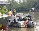 Tìm thấy thi thể đại úy cảnh sát giao thông gặp nạn trên sông Hậu