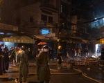 Cháy kiôt vải trong chợ Nhị Thiên Đường, nhiều tài sản bị thiêu rụi trong đêm