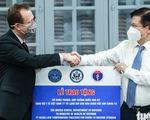 Mỹ bàn giao tủ lạnh âm sâu lưu trữ vắc xin Pfizer cho Việt Nam