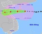 Không khí lạnh ảnh hưởng ra sao tới đường đi bão số 8?