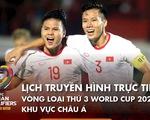 Lịch trực tiếp Việt Nam - Trung Quốc ở vòng loại World Cup 2022