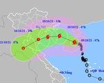 Bão số 7 tăng tốc, áp sát Đồng bằng Bắc Bộ và Bắc Trung Bộ