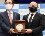 Hàn Quốc ra mắt kỷ niệm chương để vinh danh HLV Park Hang Seo