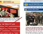 Cảnh báo trang web giả mạo Công an Hà Nội đặc biệt nguy hiểm