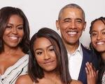 Tấm ảnh hiếm hoi của gia đình ông Obama