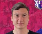 Thủ môn Văn Lâm mặc áo số 1 ở Cerezo Osaka