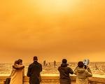 Bụi từ sa mạc Sahara chứa chất phóng xạ đổ xuống châu Âu