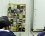 Trung Quốc cấm học sinh đem điện thoại vào lớp
