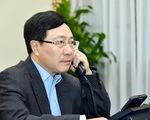 Tân Ngoại trưởng Mỹ Antony Blinken điện đàm với Phó thủ tướng Phạm Bình Minh