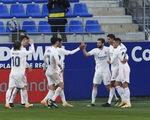 HLV Zidane trở lại sau COVID-19, Real Madrid thắng vất vả trước đội chót bảng
