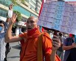 Myanmar: Sư sãi tham gia biểu tình, cảnh sát cảnh báo trấn áp