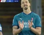 Cướp bóng của thủ môn, Ibrahimovic giật gót... ra ngoài trước khung thành trống