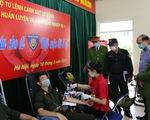 Cán bộ, chiến sĩ cảnh sát cơ động hiến hơn 1.000 đơn vị máu giúp người bệnh