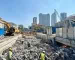 Tăng tốc thi công metro số 1, hoàn trả mặt bằng trên đường Lê Lợi trước 30-4