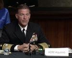 Đô đốc Mỹ: Trung Quốc có thể chiếm Đài Loan