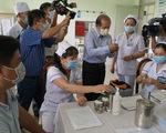 Đồng Tháp: Tiêm 350 liều vắc xin COVID-19 cho nhân viên y tế biên giới