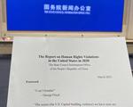 Trung Quốc tung sớm báo cáo nhân quyền về Mỹ