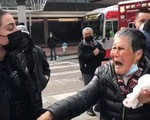 Bà cụ bị hành hung góp 1 triệu USD chống phân biệt chủng tộc