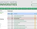 Các trường đại học của Việt Nam trên bảng xếp hạng Webometrics đầu năm 2021