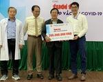 Thêm 300 triệu đồng cùng Tuổi Trẻ góp mua vắc xin COVID-19