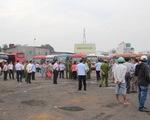 Sẽ cưỡng chế bãi xe lấn chiếm sông Bình Triệu gần bến xe Miền Đông