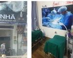 Dân báo tin, Sở Y tế TP.HCM thấy được một cơ sở thẩm mỹ trá hình cà phê