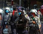 Hơn 600 cảnh sát Myanmar tham gia biểu tình với dân