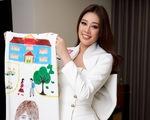 Khánh Vân đưa dự án bảo vệ trẻ em bị xâm hại đến Miss Universe