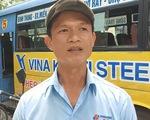 Tài xế xe buýt bị khống chế: