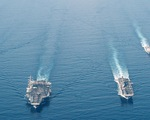 200 tàu Trung Quốc ở đá Ba Đầu, Mỹ - Philippines sẽ tập trận ở Biển Đông?