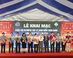 Hơn 200 sinh viên cả nước dự thi Olympic Vật lý toàn quốc