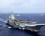 Tàu sân bay Trung Quốc tiến xuống nam Biển Đông