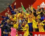 Messi lập cú đúp giúp Barca thắng