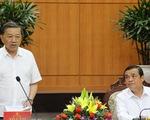 Đại tướng Tô Lâm làm việc với Quảng Nam về bầu cử: Không để phát sinh điểm nóng