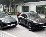 Cặp xe sang Porsche Macan trùng biển số