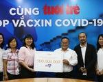 Hà Anh Tuấn góp 500 triệu đồng cho chương trình 'Cùng Tuổi Trẻ góp vắc xin COVID-19'