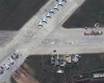 Ảnh vệ tinh tiết lộ khí tài Nga triển khai gần Ukraine