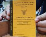 Thái Lan thông qua việc cấp hộ chiếu vaccine