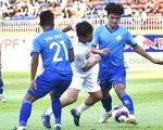 Vòng loại Cúp quốc gia 2021: Hú vía cho thầy trò HLV Kiatisak